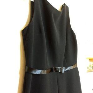 Business style black dress